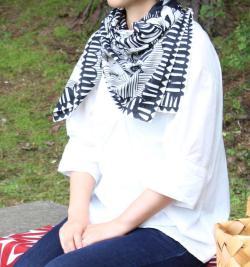 サーカス イメージ スカーフ